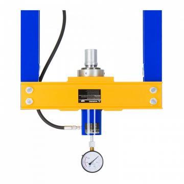 Gru idraulica GP10/DE OMCN pompa doppio effetto 1 ton
